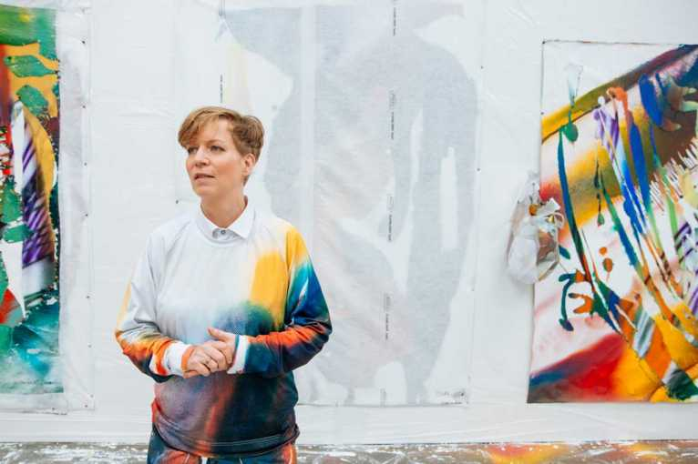 Katharina Grosse: Zázračný obraz