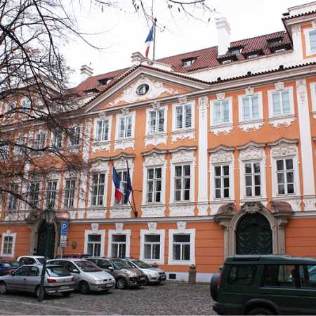 The Embassy of France to the Czech Republic