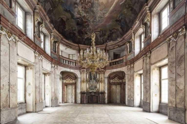 Historické interiéry v Colloredo-Mansfeldském paláci