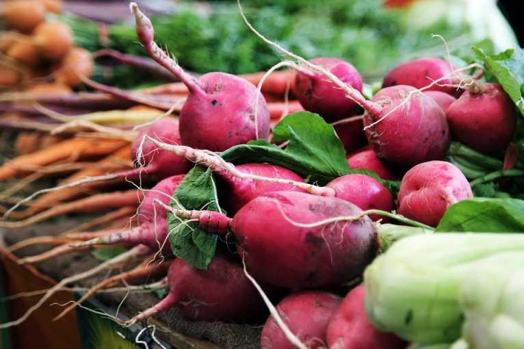 Farmářské trhy na Pankráci