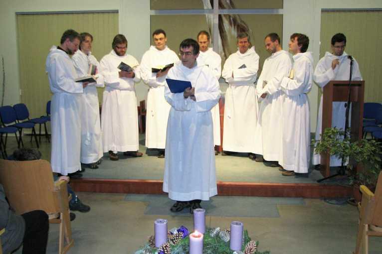 Nedělní bohoslužba: Svatomichalská gregoriánská schola
