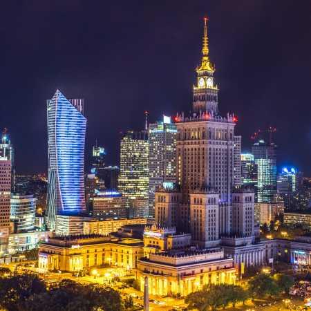 Warsaw – různá místa