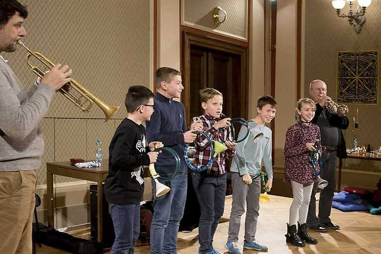 A Morning with Musicians of the Philharmonic: Trumpet Players at the Rudolfinum