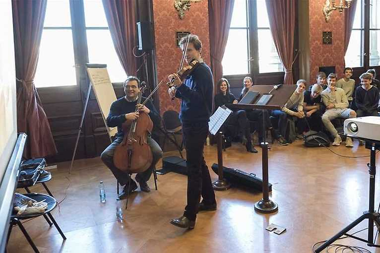 A Morning with Musicians of the Philharmonic: Philharmonic Family Duet