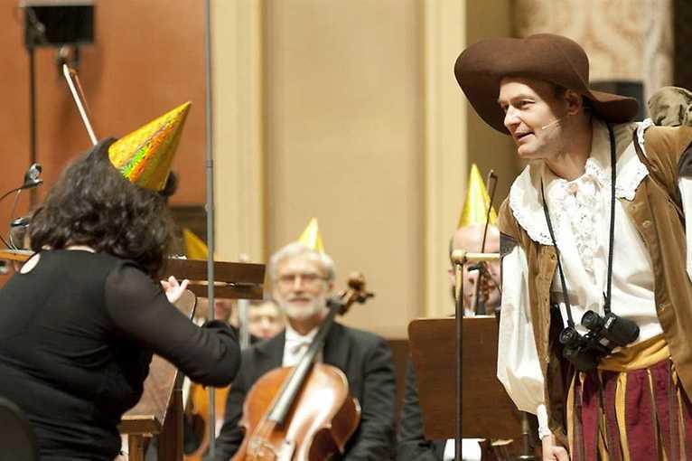 Czech Philharmonic Pirates in the Rudolfinum