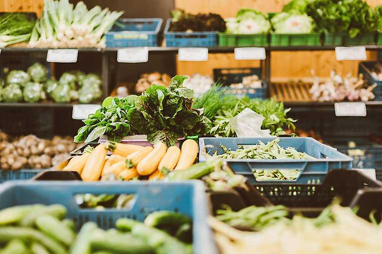 Farmářské trhy ve Dvoře v Kobylisých