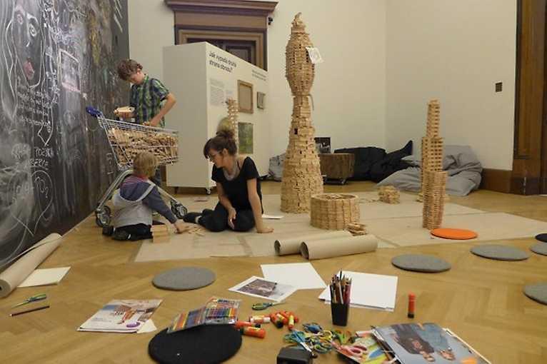 Artparking – lekce současného umění pro děti