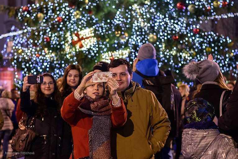 Gurmánské Vánoce na Dominikánském náměstí