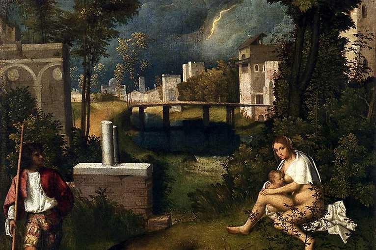 Záhada Giorgionovy Bouře