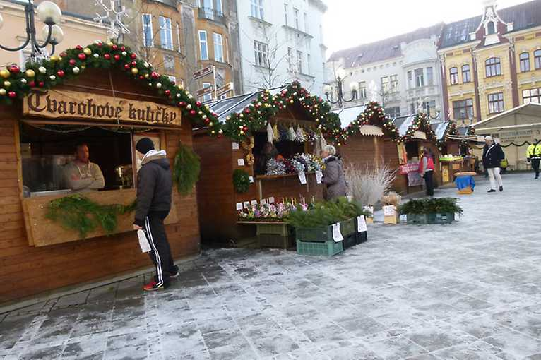 Vánoční trhy v Ostravě
