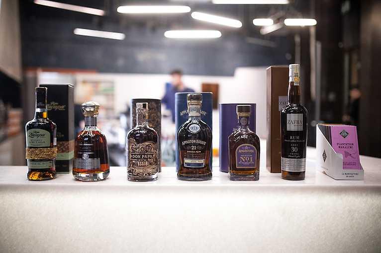 Degustace ultra-premiových rumů