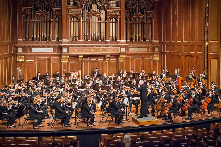 Musica Orbis 2019: New England Conservatory Youth Philharmonic Orchestra