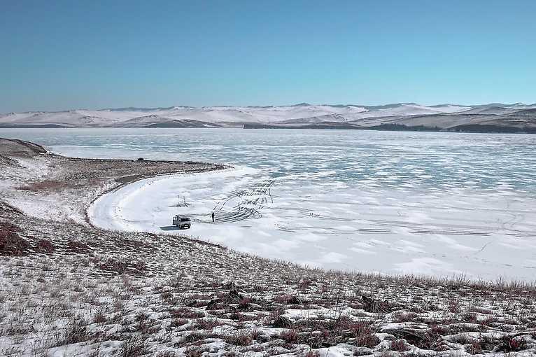 Zimowy Bajkał - Szerokie Tory