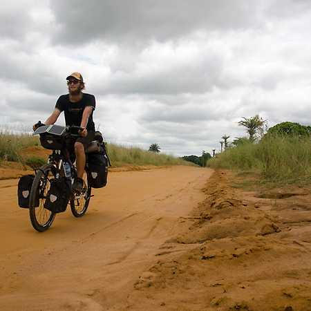 Tadeáš Šíma: Na kole přes Afriku
