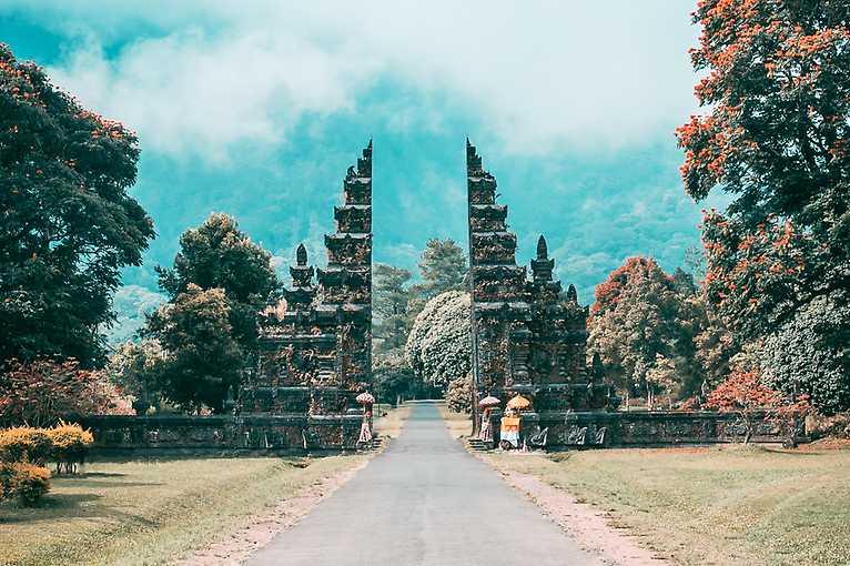 Indonéské ostrovy Bali a Lombok