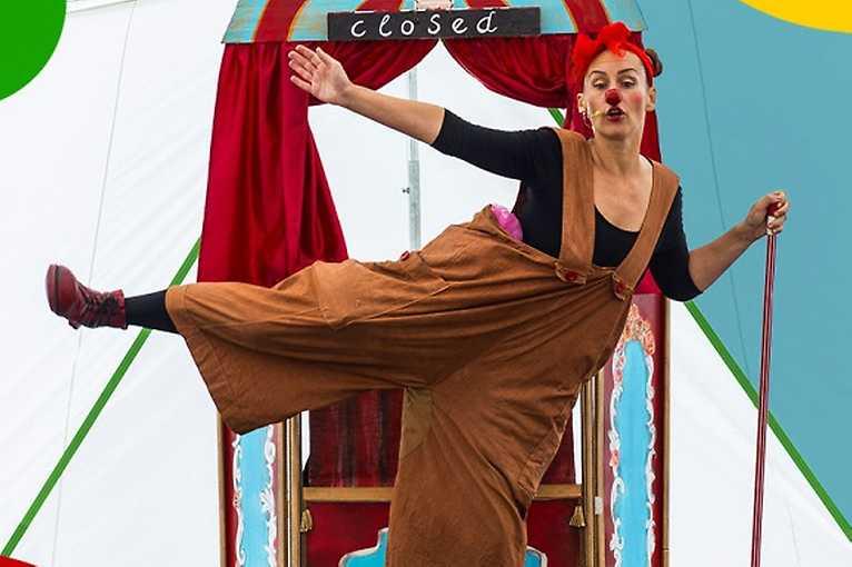 Jak klaunka Pepina k cirkusu přišla