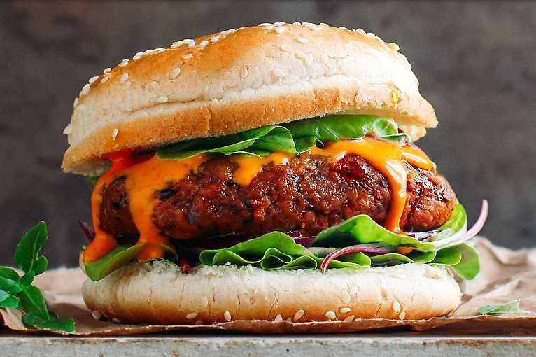 Hmyzí ochutnávka – zeleninový burger