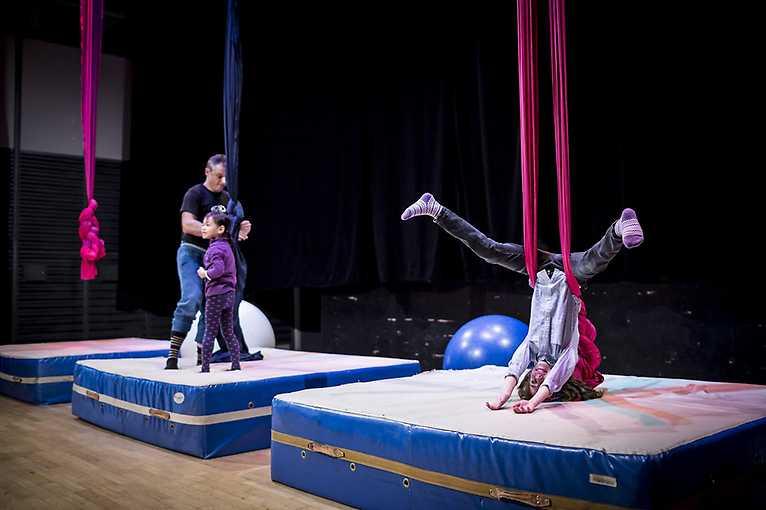 Cirkusový workshop