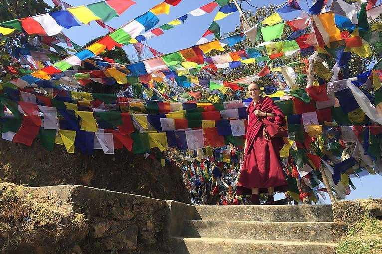 Neformální setkání s mniškou Tenzin Palmo