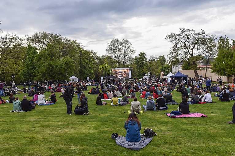 Opening of Prague Spring on Kampa