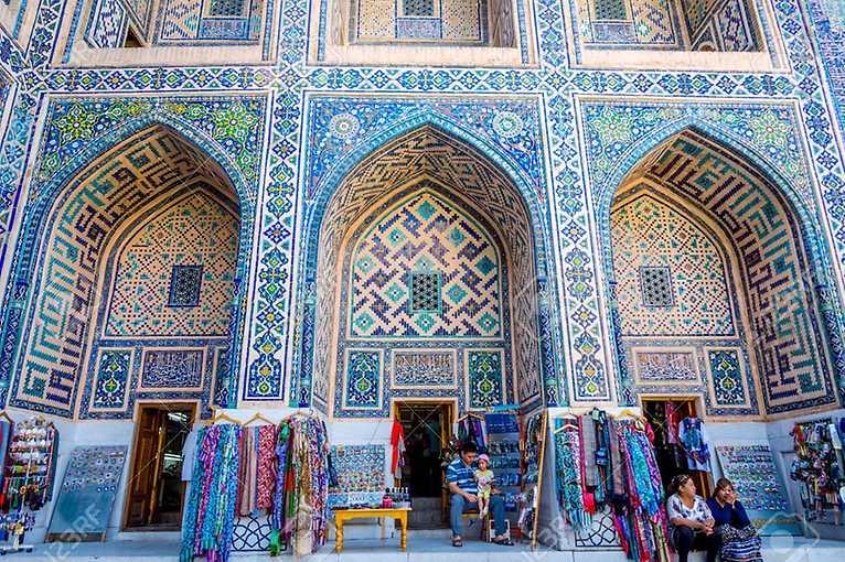 Klára Štiplová: Uzbekistán