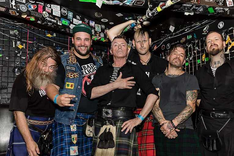 The Real McKenzies + support: Thunderbirds + Brew 36