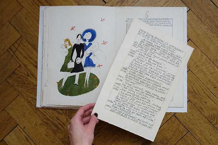 Komentovaná prohlídka výstavy Ze šuplíku: nepublikované knižní ilustrace