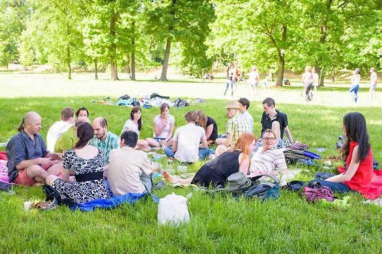 První letošní veganský piknik v Riegráčích