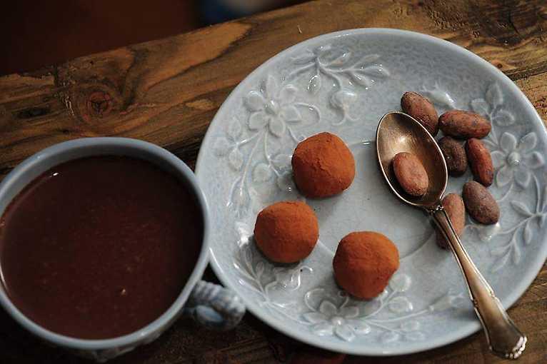 Čokoládové posezení