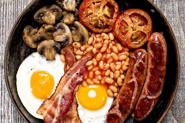 Crazy English Breakfast