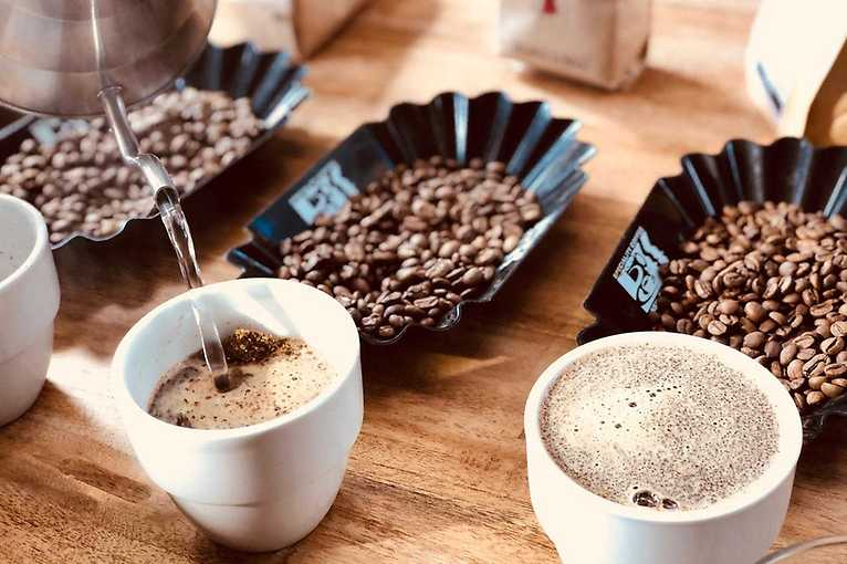 Cupping s Father's Coffee Roastery