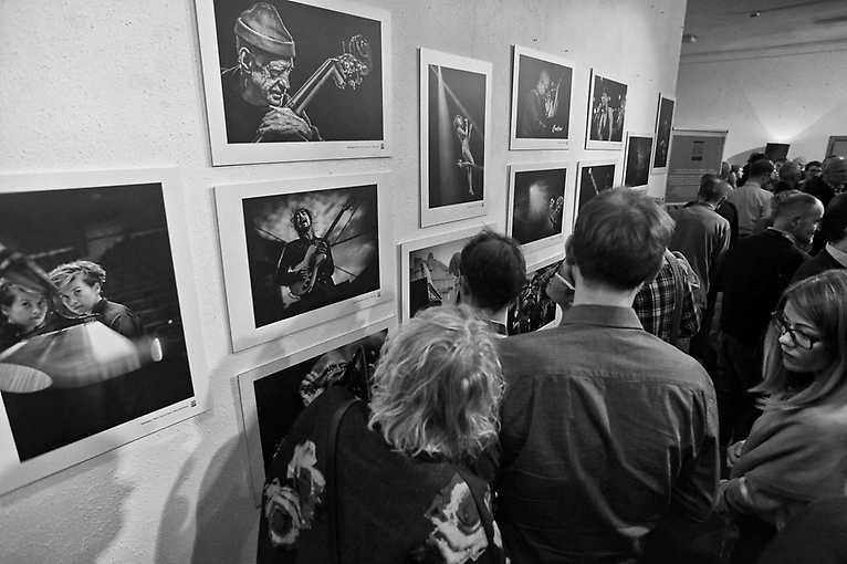 Exhibition Opening: Jazz World Photo