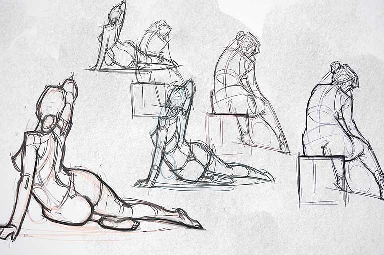 Figurální pohybová kresba pro každého