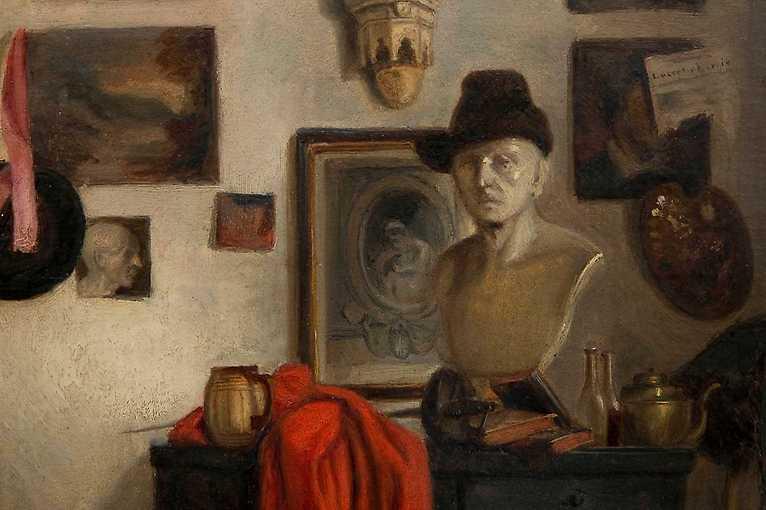 Komentovaná prohlídka výstavy Kariéra s paletou. Umělec, umění a umělectví v 19. století