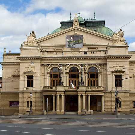 The JK Tyl Theatre in Pilsen