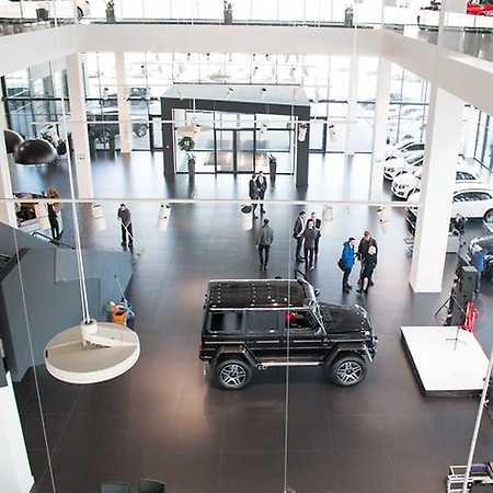 Hala serwisowa Mercedes-Benz