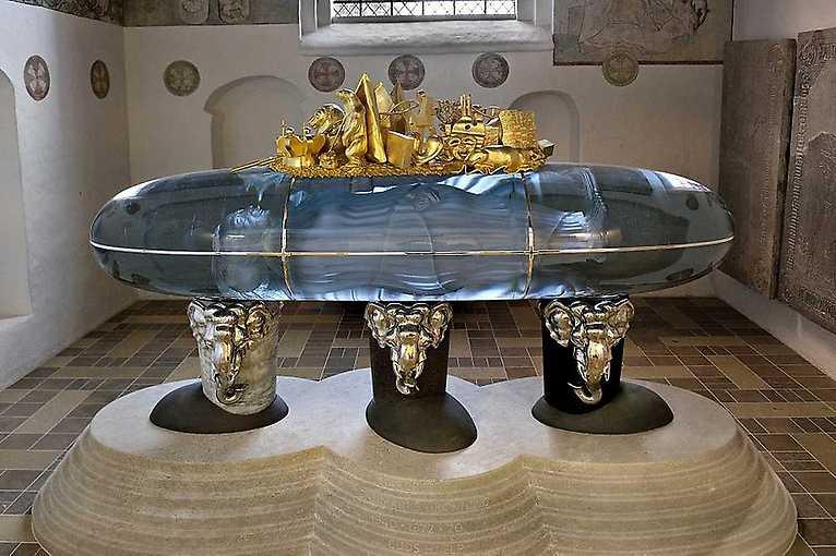 Sarkofág pro královnu