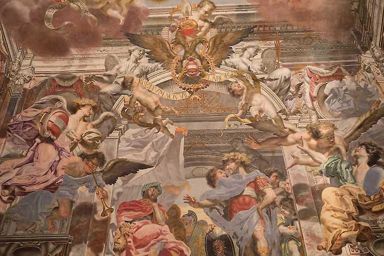 Barokní obraz, vrstvy a barvy