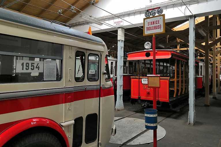 Praha trolejbusová