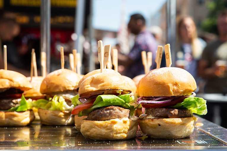 Burger Street Festival Brno