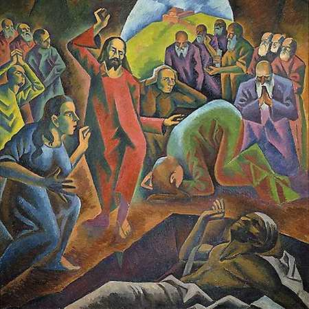 Mahulena Nešlehová: Kubištovo pojetí aktu vzkříšení v obrazu Vzkříšení Lazara