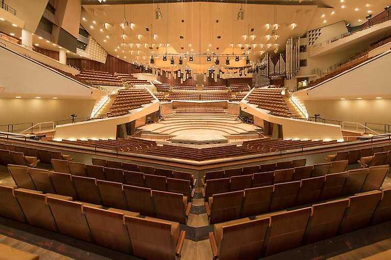 Japanisches Nō-Theater in der Philharmonie