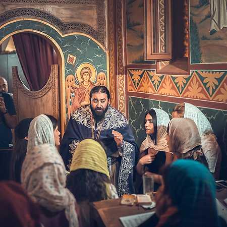 Monastery of 13 Holy Assyrian Fathers Choir - © Irina Dotsenko