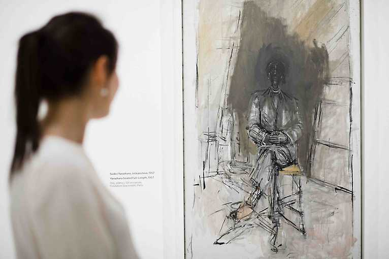 Guided Tour of the Exhibition Alberto Giacometti