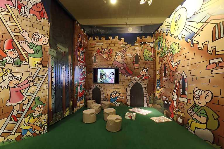 Komentovaná prohlídka výstavy 50 let se Čtyřlístkem pro děti