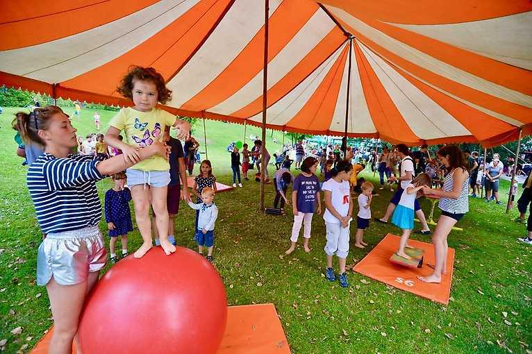 Cirkusové dílny Cirkusu LeGrando