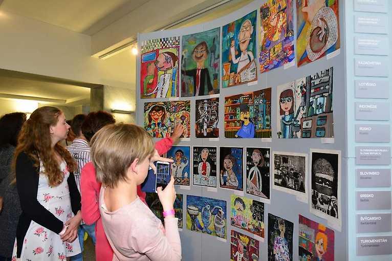 The 47th International Children's Exhibition of Fine Arts Lidice