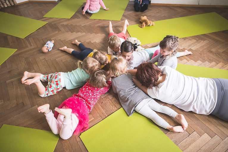 Hudebně-pohybová dílna pro děti od 18 měsíců