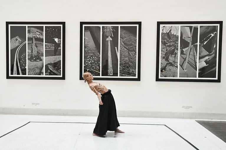Tanec v galerii: Work in Progress z Rezidence 2019