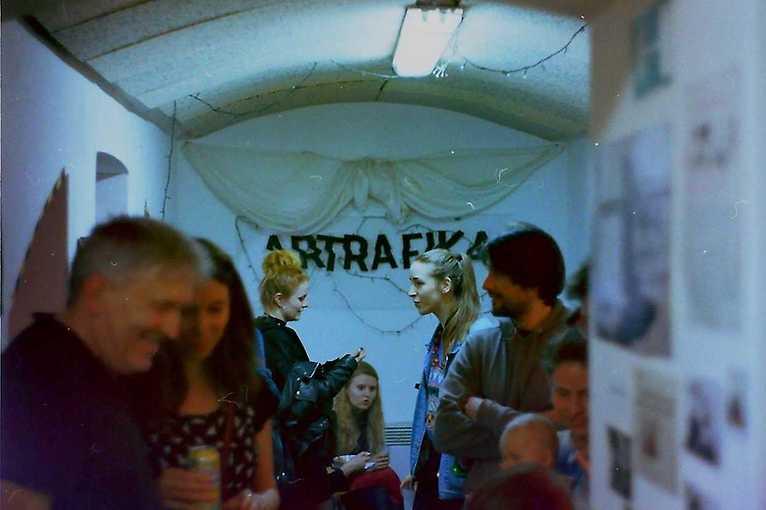 Festival Ilustrace v trafice